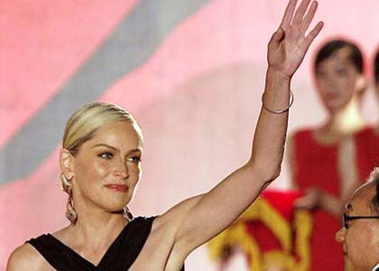 Sharon Stone s'en prend à la Chine