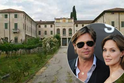 Maison d 39 angelina jolie et brad pitt en italie photo for Angelina maison de l afrique