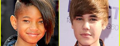 Justin Bieber Willow Smith Staples Center