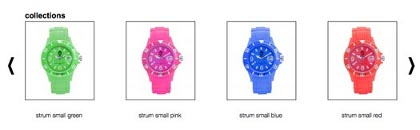Jonas Brothers collection montres
