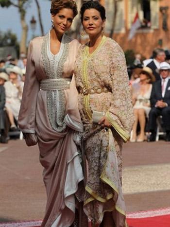 Lalla Soukaïna plus élégante au mariage Albert de Monaco