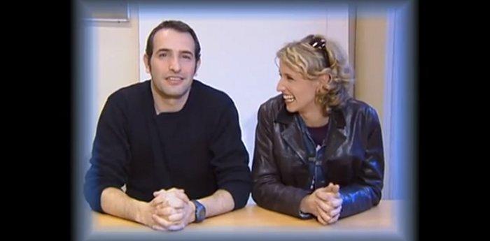 Jean dujardin et alexandra lamy un chantage au d but de for Age jean dujardin