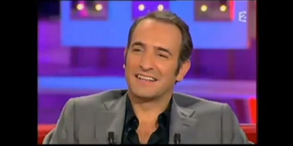 Jean dujardin sans alexandra lamy chez johnny hallyday for Dujardin johnny