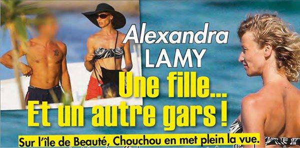 Alexandra lamy oublie jean dujardin avec un autre gars for Dujardin patrick