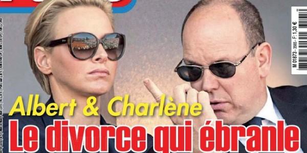 Charlène de Monaco et Albert «un divorce qui ébranle le rocher