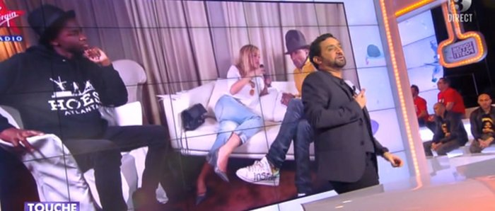 Cyril Hanouna Enora Malagre le ton monte cause Pharrell Williams