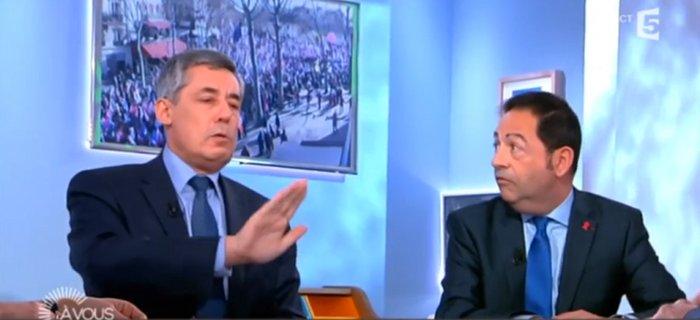 Henri Guaino Jean-Luc Romero C à Vous