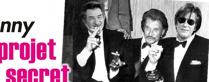 Johnny Hallyday Eddy Mitchell projet secret