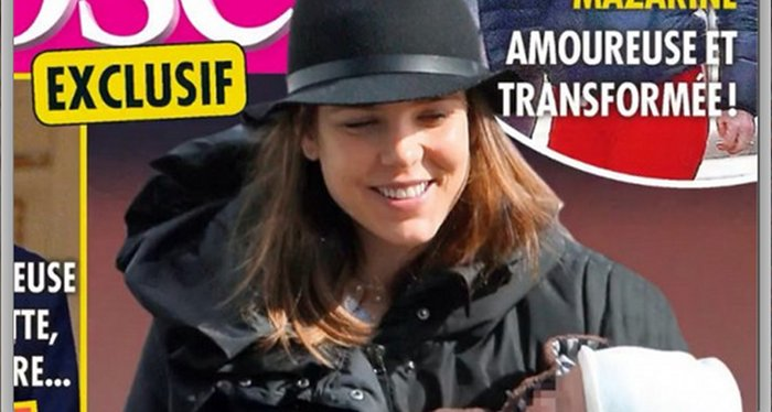 Charlotte Casiraghi gere la perfection