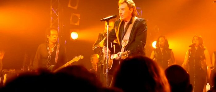 Johnny Hallyday carbure eau gazeuse