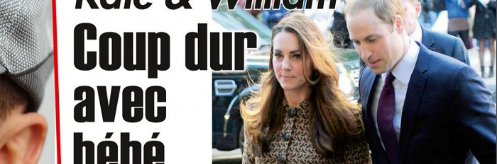 Kate Middleton et William coup dur cause de George