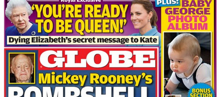 Kate Middleton messages secrets reine Globe