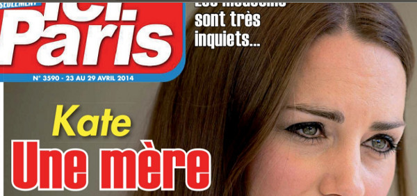 Kate Middleton, une mere face maladie Ici Paris