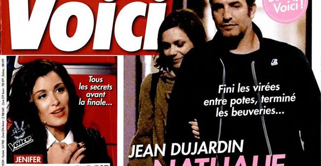 Jean dujardin oublie gilles lellouche cause de nathalie for Jean dujardin couple 2014