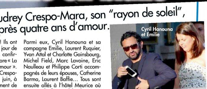 Cyril hanouna et charlotte gainsbourg au mariage de thierry ardisson - Maison de cyril hanouna ...