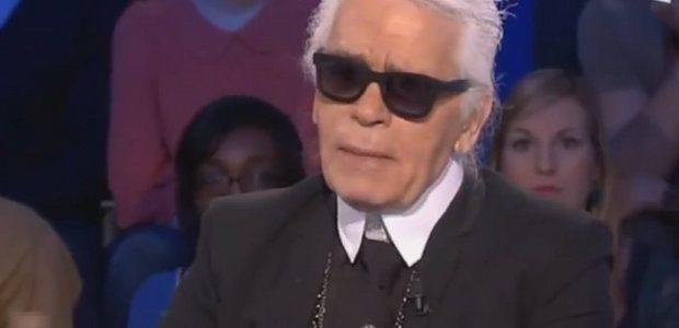 Karl Lagerfeld un soutien de Valérie Trierweiler