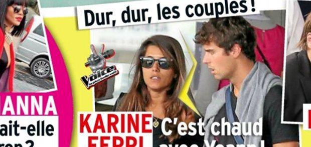 Karine Ferri, zen depuis sa séparation avec Yoann Gourcuff