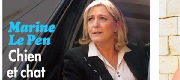 Marine Le Pen «blessée» par La Fouine