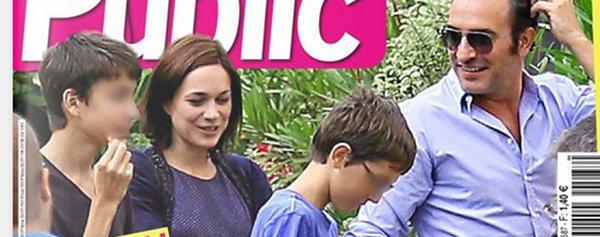 Nathalie p chalat adopt e par les enfants de jean dujardin for Enfant dujardin
