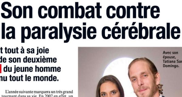Andrea Casiraghi, en guerre contre la paralysie cérébrale