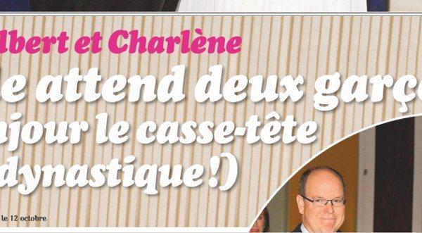 Charlène de Monaco- Aucun casse-tête dynastique