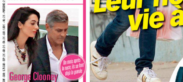 George Clooney et Amal Alamuddin, ça commence très mal selon Voici