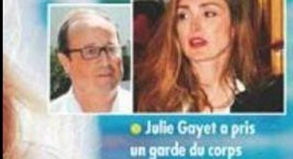 Julie Gayet et Stéphane Guillon, loin de la guerre