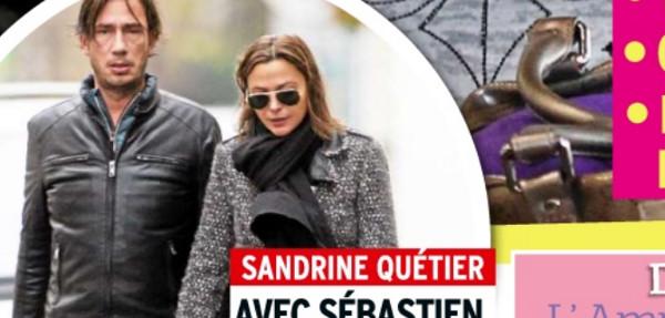 Sandrine qu tier ne l che plus s bastien un cadre de chez orange - Sandrine quetier vie privee ...