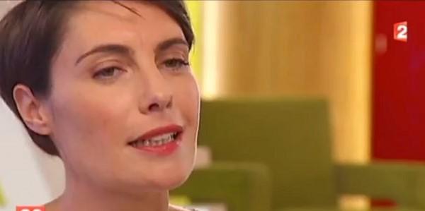 Alessandra Sublet, moins d'appréhensions depuis la naissance de sa fils