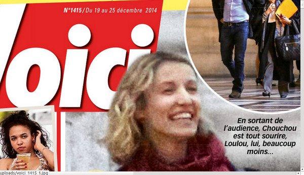 Alexandra Lamy oublie Jean Dujardin sur le tournage «Une chance de trop»