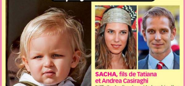 Andrea Casiraghi- Première sortie officielle pour Sacha