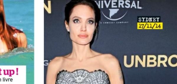 Angelina Jolie dans un état de fatigue et de vulnérabilité