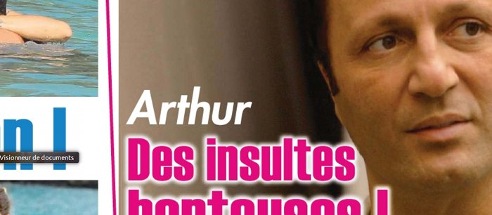 Arthur en veut toujours à Aurélie Filippetti