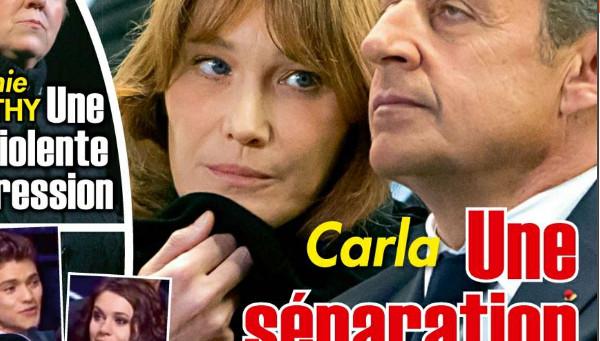 Carla Bruni et Nicolas Sarkozy, leur séparation démentie