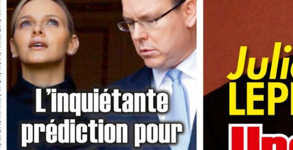 Charlène de Monaco, une inquiétante prédiction pour ses jumeaux