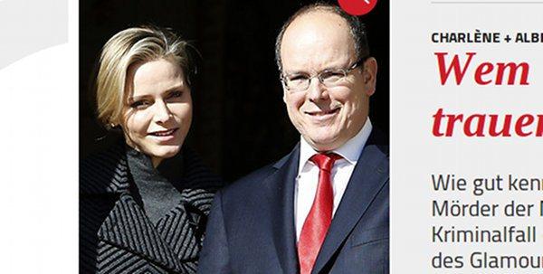 François Hollande, confident du prince Albert