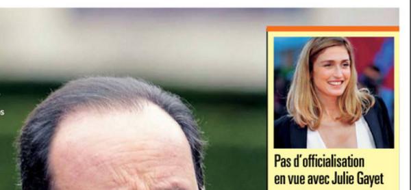 François Hollande, un Noel sans Julie Gayet