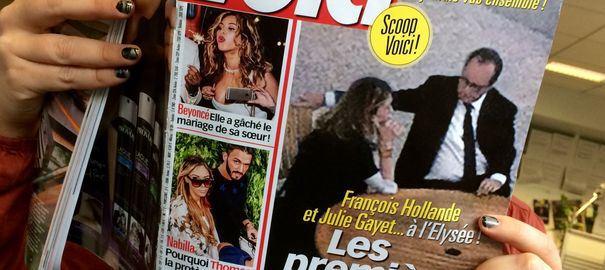 Julie Gayet et François Hollande, Stéphane Guillon