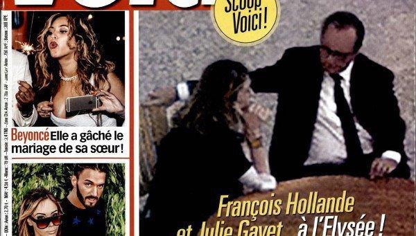 Julie Gayet et François Hollande, trahis par un agent de Carla Bruni