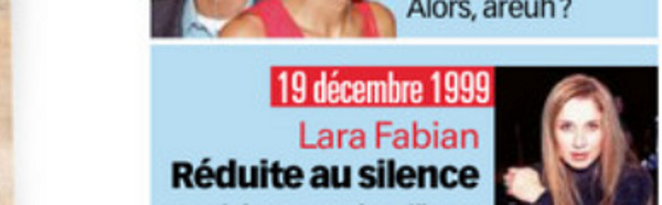 Lara Fabian, réduite au silence par Sony