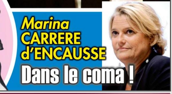 Marina Carrère d'Encausse peste contre Ici Paris