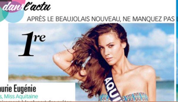Miss France 2015, Malaurie Eugénie, Miss Aquitaine, élue