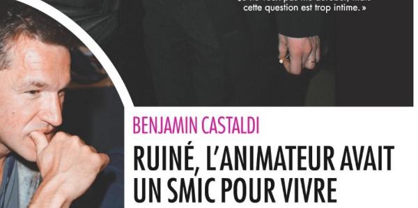 Ruiné, Benjamin Castaldi vit avec le Smic
