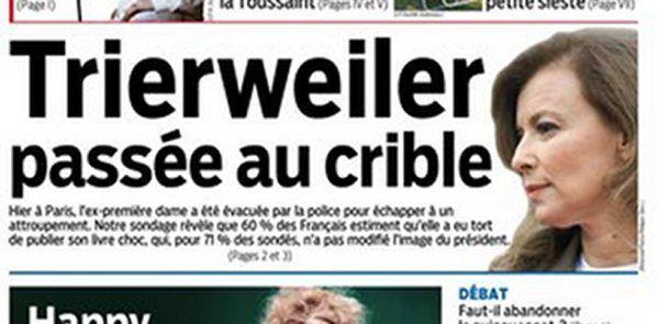 Valérie Trierweiler piégée par France 2
