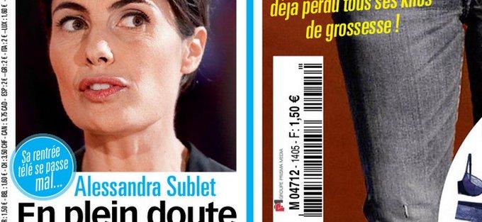 Alessandra Sublet fière du buzz avec Nicolas Bedos