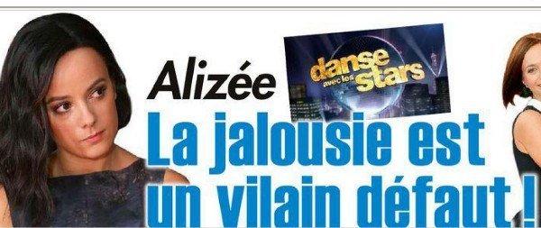 Alizée pousse une gueulante contre Public