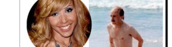 Cathy Guetta comparée à Jean-Claude Duss, des bronzés