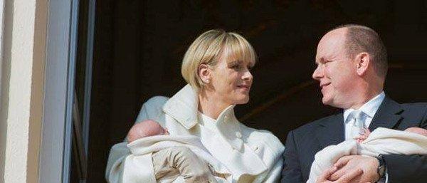 Charlène et Albert de Monaco «solidaires» de François Hollande