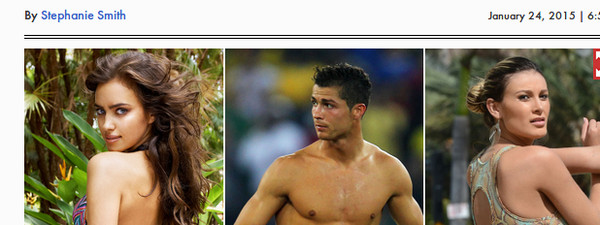 Cristiano Ronaldo et Irina Shayk, l'infidélité