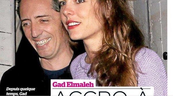 Gad Elmaleh épaulé par  Charlotte Casiraghi au  Largo at the Coronet